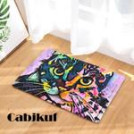 Painting Cat Print Doormat DHC07062248