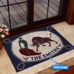 Bullfighting Personalized Doormat DHC0706414