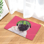 Animal Puppy Pug Doormat DHC07062345