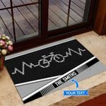 Keep Spinning Personalized Doormat DHC0706282