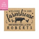Farmhouse Personalized Doormat DHC07061580