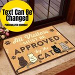 The Cats Personalized Doormat DHC07061446