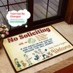Personalized We Will Release Doormat DHC07061145