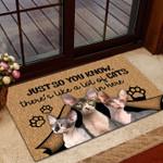 Sphynx Cat Doormat DHC0706736