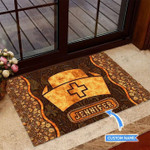 Nurse Personalized Doormat DHC0706348
