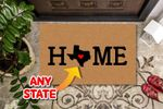 Personalized Usa Home Doormat DHC07061059