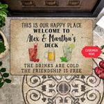 The Friendship Personalized Doormat DHC07061447