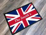 British Union Jack Personalized Doormat DHC07061490