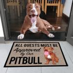 Pitbull Dog Doormat DHC0706731