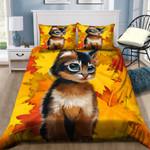 Cute Cat In Autumn NI1303051YD Bedding Set