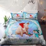 Cute Pig Merry Christmas NI0901022YD Bedding Set