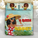 Black Queen Loves Summer YP2004001YG Bedding Set