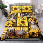 Tibetan Terrier Yellow Tartan NI0303070YT Bedding Set