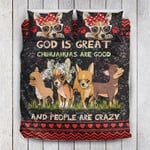 God Is Great Chihuahua Are Good YP1105008YE Bedding Set