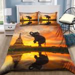 Sunset Dusk Elephant NI0701128YD Bedding Set