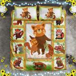 Amazing To My Son Red Panda NI1004001YM Bedding Set