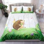 Cute Little Hedgehog In Forest NI2403004YT Bedding Set