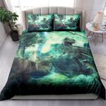Fantasy Landscape With Dinosaur NI2203012YT Bedding Set