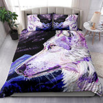 Wolf Space Mountains And Forest NI1003014YT Bedding Set
