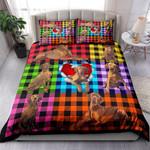 Vizsla Plaid NI0303077YT Bedding Set