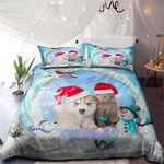 Cat Dog Merry Christmas NI0901015YD Bedding Set