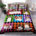 Papillon Plaid NI0303051YT Bedding Set