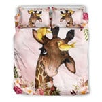 Giraffe Flower Art NI1903005YL Bedding Set