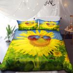 Sunflower With Sunglass NI0901057YD Bedding Set