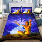 Native America Spirit Wolf NI0302054YD Bedding Set