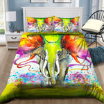 Colorful Elephant Art NI0701097YD Bedding Set
