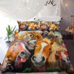Horses Family NI0901036YD Bedding Set