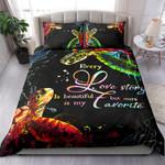 Turtle Couple Love Story NI0303071YT Bedding Set
