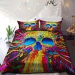Colorful Skull NI3001100YD Bedding Set