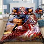 Dachshund America Eagle YP0605005YE Bedding Set