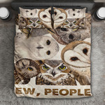 Ew People Cute Owl YP2404009XD Bedding Set