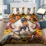 Horse Sunflower NI2004005YL Bedding Set