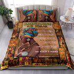 African Woman NI2204002YM Bedding Set