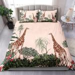 Giraffe And Tropical Plants NI1503007YT Bedding Set