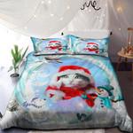 Funny Cat Merry Christmas NI0901031YD Bedding Set