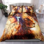 Native Girl And Lion NI0803010YT Bedding Set