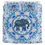 Blue Elephant Mandala AM1611492CL Bedding Set