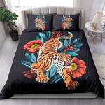 Tiger With Flowers NI2603008YT Bedding Set
