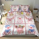 Cute Pigs NI2304005YM Bedding Set