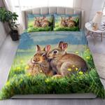 Rabbit Couple Art NI1903010YL Bedding Set