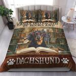 Books And Dachshund YP1604001YG Bedding Set