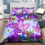 Purple Butterflies NI1601068YD Bedding Set