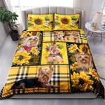 Yorkie Yellow Tartan NI0303079YT Bedding Set
