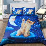 Cat Play With Moon NI1802127YD Bedding Set