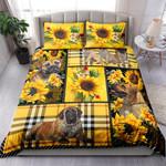 Mastiff Yellow Tartan NI0303048YT Bedding Set