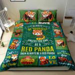 Love Red Panda NI1904001YM Bedding Set